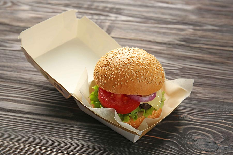 An icon of a corrugated sandwich pad.