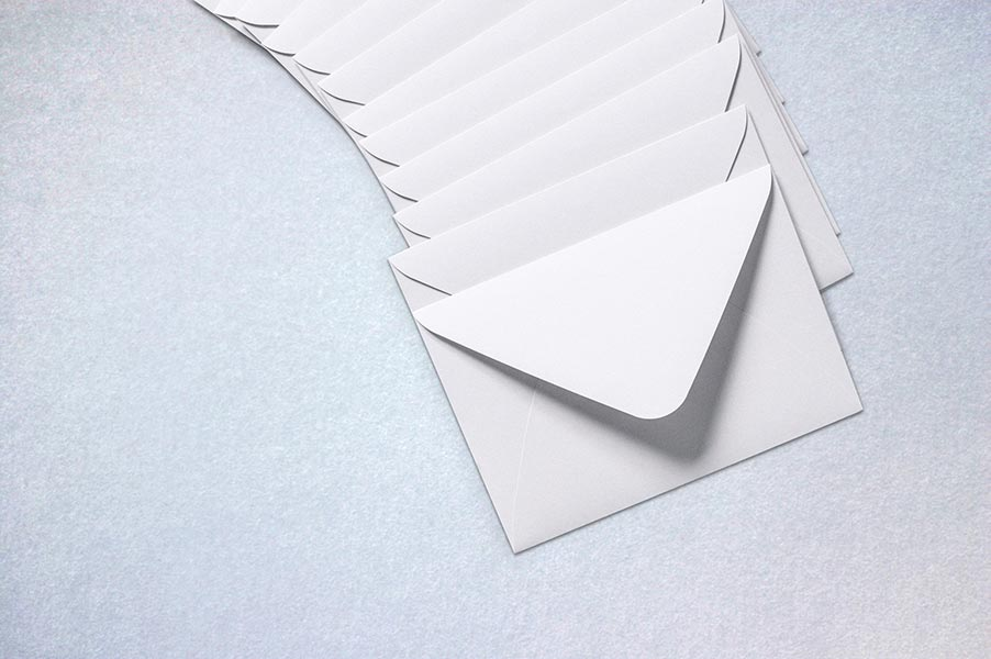 Envelopes on a surface.